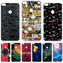 TAOYUNXI Case For Huawei P9 Lite 2017 Cases For Huawei P8 Lite 2017 Honor 8 Lite Nova Lite Honor 8 Youth Edition Painted Cover