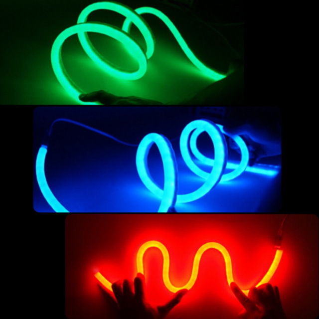 Responsible Ac220v Led Neon Rope Strip Ribbon Light 2835smd Tape120led/m Waterproof Ip65 With Power Plug Size8*16mm Tube Lamp Rgb Warmwhite Led Strips