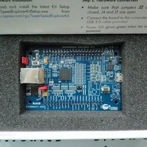 Image 2 - Placa de herramientas de desarrollo de interfaz de CYUSB3KIT 003, EZ USB FX3 SuperSpd Explor, 1 Uds.