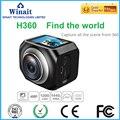 Winait H360 action camera  220 degree super wide lens  high speed USB 2.0 1.5LTPS mini 5mp Pixels digital video camera Brazil