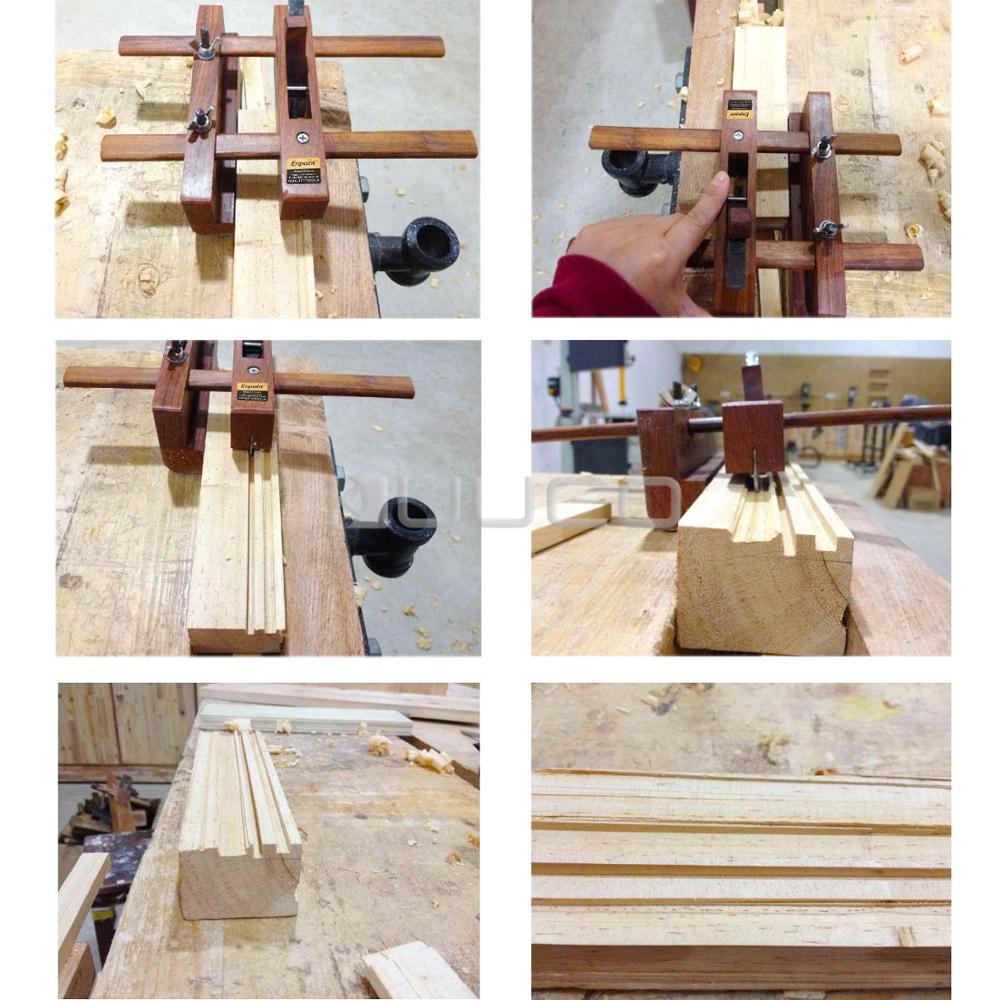 רהיטים ווד פלנר, כלים מקצועיים / Woodworking כלים / DIY יד מטוס חריץ ניקור עבור רהיטים / מוסיקה Instrument או מודלים וכו (3)