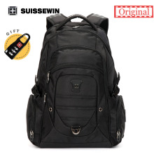 "Suissewin Backpack Laptop 15.6"" SN9275 Capacity Multi-Pocket Backpack For Business Backpack For Travel 36L Men's Backpack(China)"