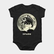 Baby Onesie Baby Bodysuits kid t shirt My Neighbor Totoro Catbus - Studio Ghibli Inspired Comedy
