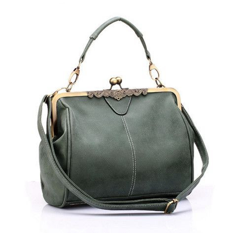 Designer Handbags PU Leather Tote Bag Retro Women Messenger Bags Small Shoulder Bag