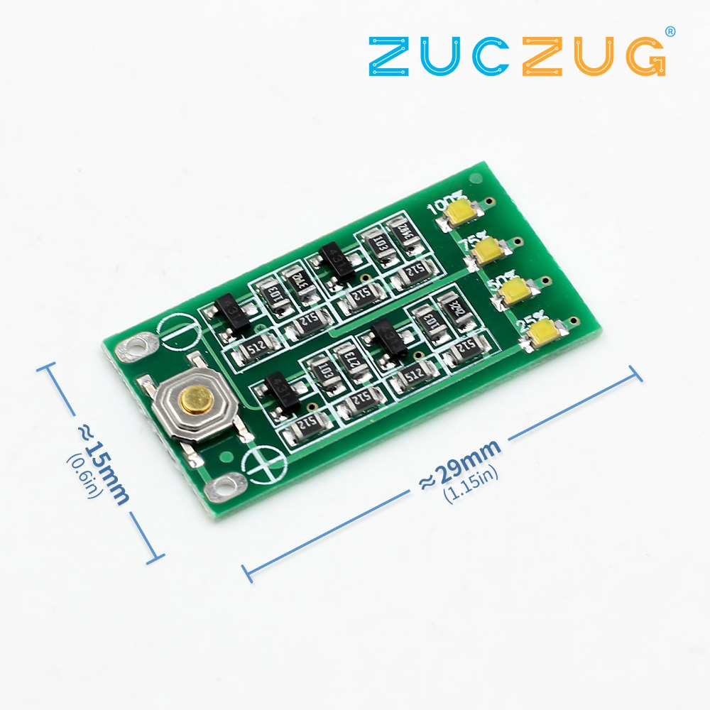 <font><b>3S</b></font> 11.1V 12V 12.6V Lithium <font><b>Battery</b></font> Capacity <font><b>Indicator</b></font> Module Lipo Li-ion Power Level Display Board 3 Series 9-26V image