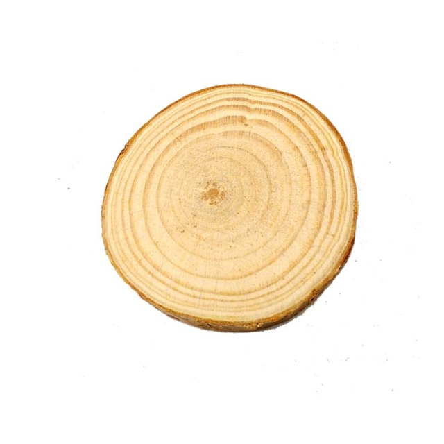 10pcs 5 7CM Wood Log Slices Christmas Birthday Baby Shower Rustic Country Wedding Decoration DIY