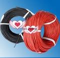 Arnés de cableado de automoción 1 rojo + 1 S Negro 12AWG envío libre resistente al calor de silicona suave car circuito de línea de envío gratis