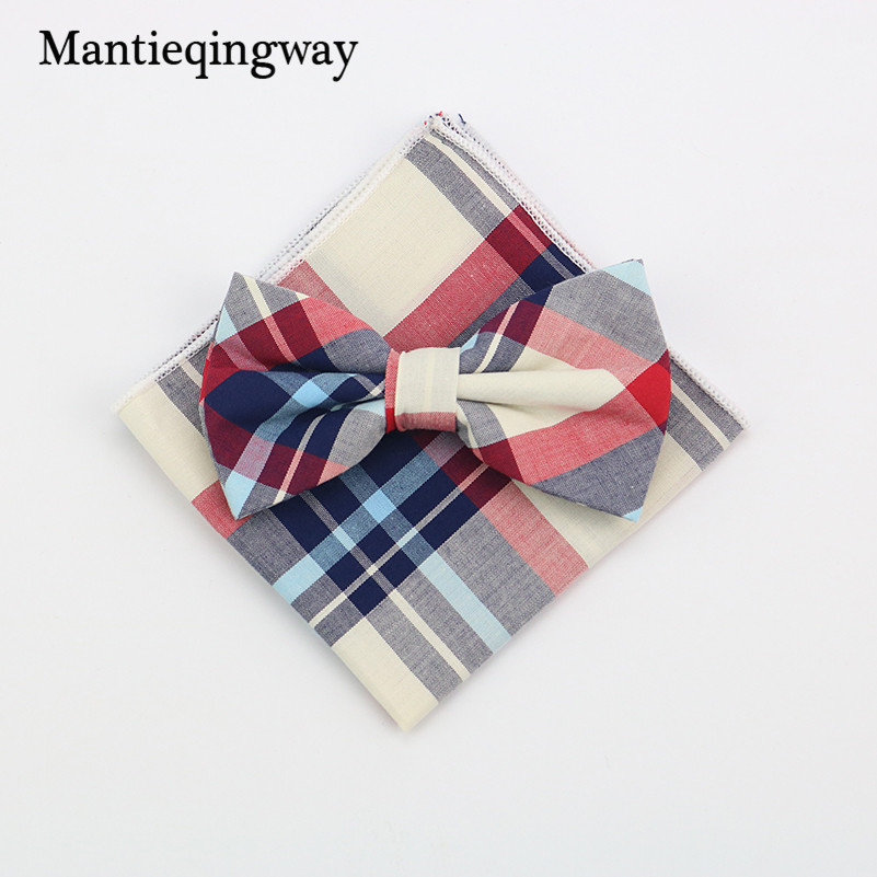 Mantieqingway Cotton Bow Ties Ms