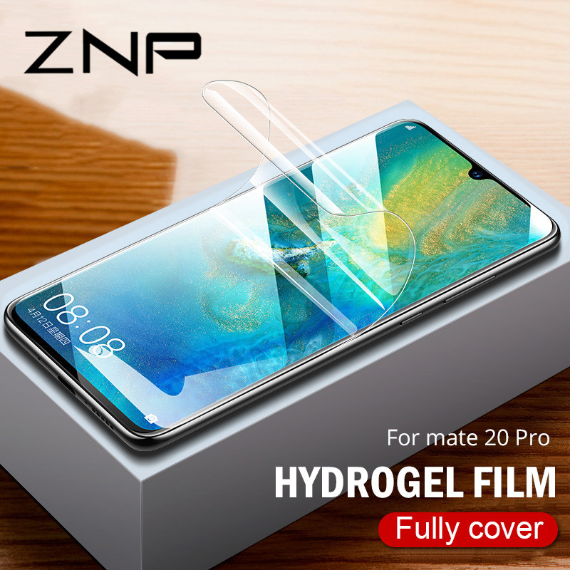 ZNP 9D Full Cover Soft Hydrogel Film For Huawei Mate 20 Lite 10 Pro Screen Protector Film For Huawei Mate 20 Pro Film Not Glass ZNP 9D Full Cover Soft Hydrogel Film For Huawei Mate 20 Lite 10 Pro Screen Protector Film For Huawei Mate 20 Pro Film Not Glass