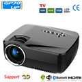 GP70UP 3D Android 4.4 Projetor 1200 Lumens Suporte 1920x1080 P Analógico TV LED Projetor Projetor Wi-fi para Casa Cinema
