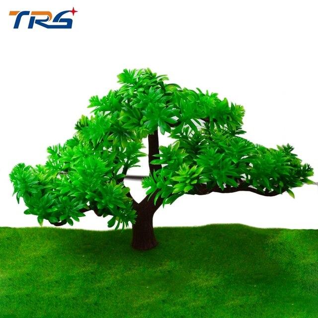 Teraysun 15 Cm Grün Baum Modell Zug Layout Garten Landschaft