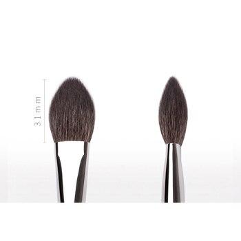 MyDestiny Ebony-Series Cheek Brush - Tapered Precision Powder/Blush Face Brush 2