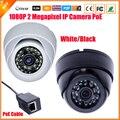 48 v poe câmera ip 1/2. cmos sensor de 8 ''sony imx322 hi3516c fhd 1080 P PoE Câmera IP Mini Dome Interior Câmera IP 2 Megapixel câmera