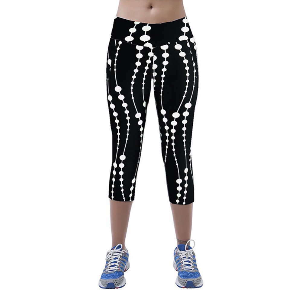 Women Yoga Fitness Workout Jogging Pant-4591