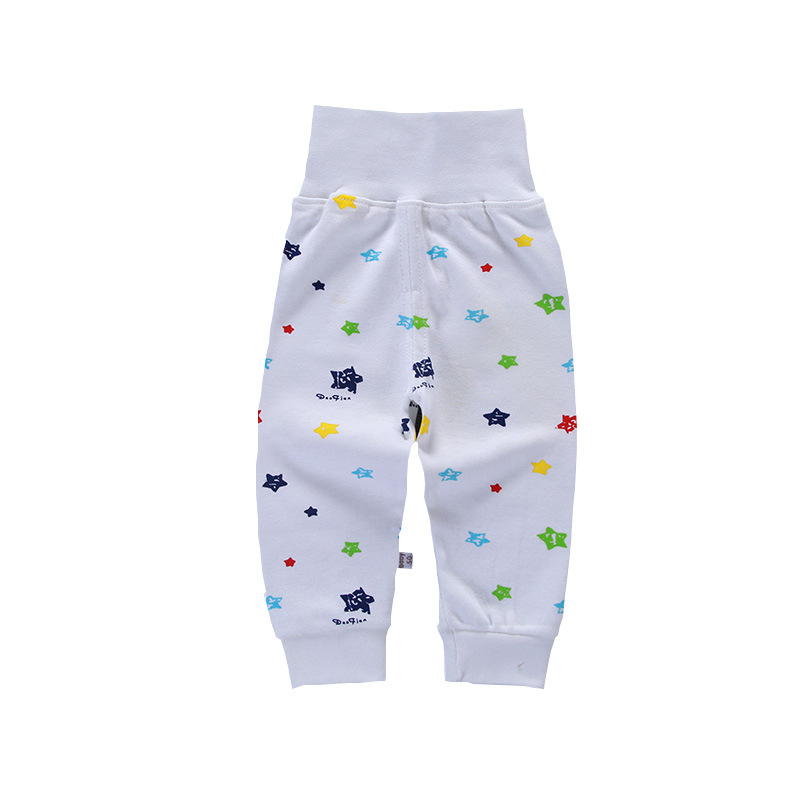 Drop Shipping Print Pattern Cotton Baby Trousers Babys Boys Girls PP Pants For Sports Baby Harem Pants Kids For Newborn Girl