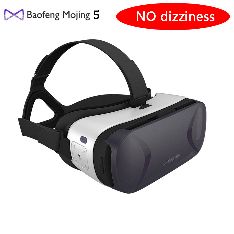 Baofeng Mojing 5 VR Virtual Reality 3D Glasses within Touchpad fit for 5-5.7 inch OTA Android Smartphone better than Baofeng 4