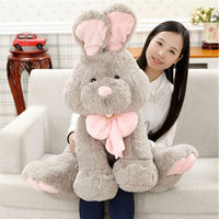 Very Nice Soft 27 Inches 70cm Giant Plush Rabbit Toy Soft Stuffed Animals Doll Xmas Present Gift New