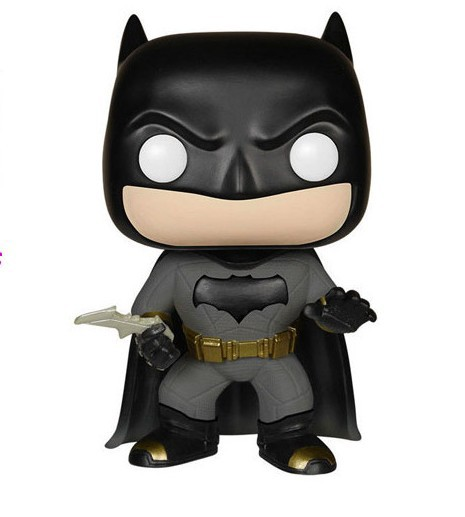 FUNKO POP Marvel BatMan #84 PVC Action Figure Collectible Model Toy 12cm KT2370  marvel deadpool funko pop super hero pvc ow batman action figure toy doll