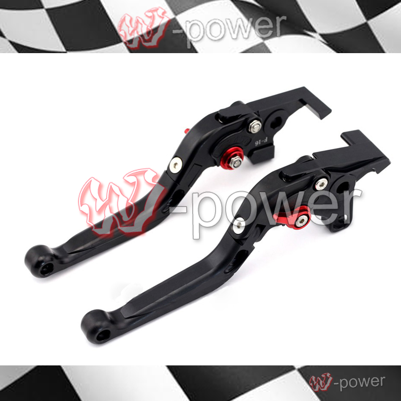 fite For YAMAHA XJR 1300/1200 XJR1300 XJR1200 FJR1300 XT1200ZE Black Motorcycle Adjustable Foldable Pull out Brake clutch lever for yamaha supertenere xt1200ze fjr 1300 xjr 1300 racer cnc adjustable levers brake clutch levers blade motorcycle accessory