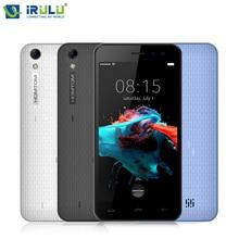 Original iRULU HOMTOM HT16 Smartphone 5.0inch Quad Core 1GB RAM 8GB ROM with Beauty Cam Android 6.0 MT6580 8MP 3000mAh Cellphone