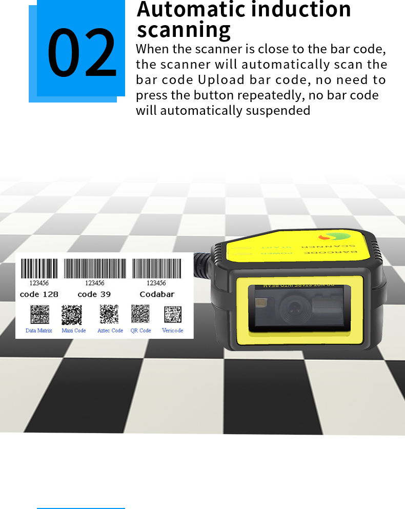 ScanHome embedded scanning module 2D code scanning head