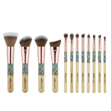 Anmor 12Pcs Makeup Brushes Set Professional Make up Brush Powder Foundation Eyeshadow Cleaner Blending Soft Cosmetics Kit Tools
