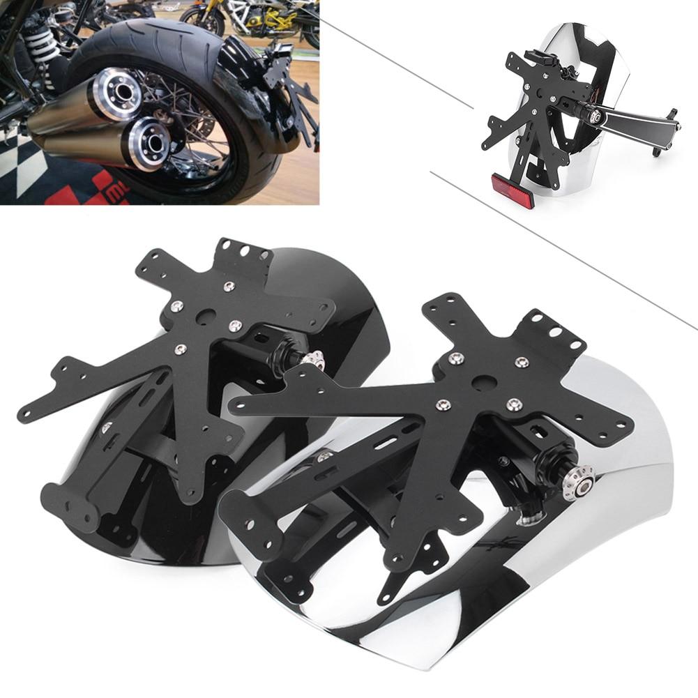 For BMW R1200R NINE T Rear Mount Hugger Mudguard Fender Eliminator Protector 2014 2015 216 Motorcycle Parts Accessories