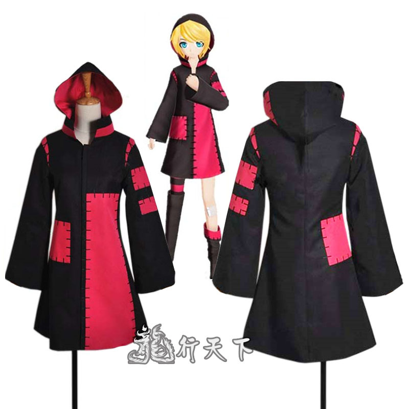 Vocaloid Hatsune Miku  Project Diva F Kagamine Rin Tokyo cos Teddy Bear ver Cosplay Costume custom made