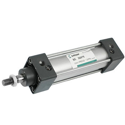 SC 32-75 32mm Bore 75mm Stroke Pneumatic Air Cylinder  Free Shipping sc 32 75 32mm bore 75mm stroke pneumatic air cylinder free shipping