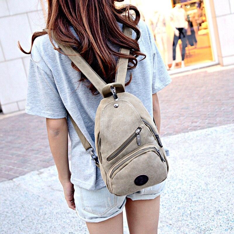 stacy taske nye hot sale pige lille lærred rygsæk lady afslappet rejse rygsække