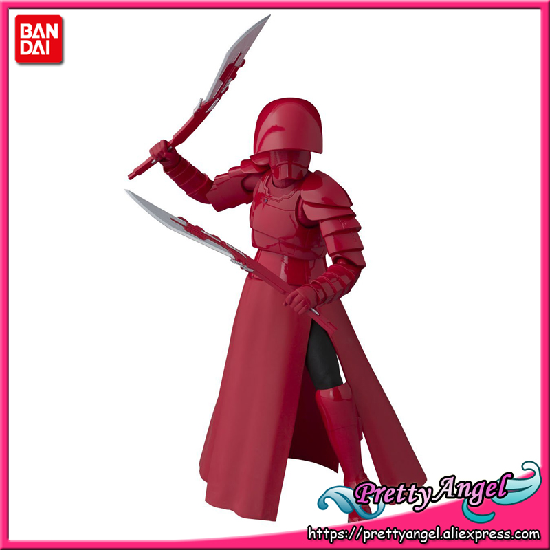 Genuine Bandai Tamashii Nations S.H.Figuarts : The Last Jedi Elite Praetorian Guard (Double Blade) Action Figure estel mohito набор клубника