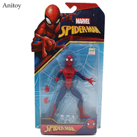 Marvel Spider Man The Amazing Spiderman PVC Figure Collectible Model Toy 16cm KT4002