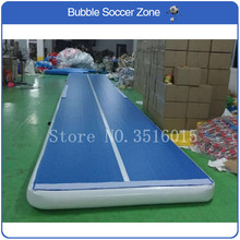цены на Free Shipping 4x2x0.2m Inflatable Air Track Air Tumbling Mat Inflatable Gym Air Mat High Quality Inflatable Tumble Track  в интернет-магазинах