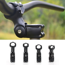 цена на Adjustable Aluminum Alloy Bicycle Stem Riser 25.4x90/110cm 31.8x90/110cm fiting Stem for Mountain Bike Stem Cycling Accessories