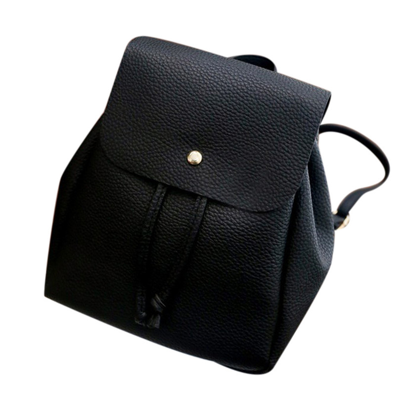 High Quality Backpack Women Leisure Student Schoolbag Drawstring Satchel Shoulder Soft Bags Free Shipping Dropshipping A12