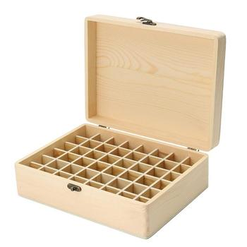 Wooden storage box essential oil