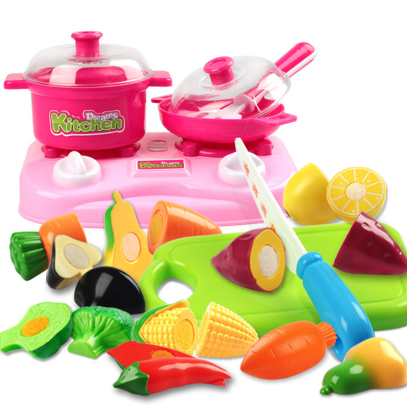 New 3 Types Classic Cooking Toys For Children 30pcs