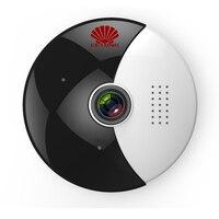 360 Moon VR панорамная wifi ip-камера с ночным инфракрасным 1.3MP рыбий глаз и двойным потоком видео в прямом эфире
