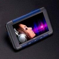 Portátil Delgado MP3 MP4 MP5 Reproductor de Música Con Radio FM Video de la Película de Alta Calidad de Sonido