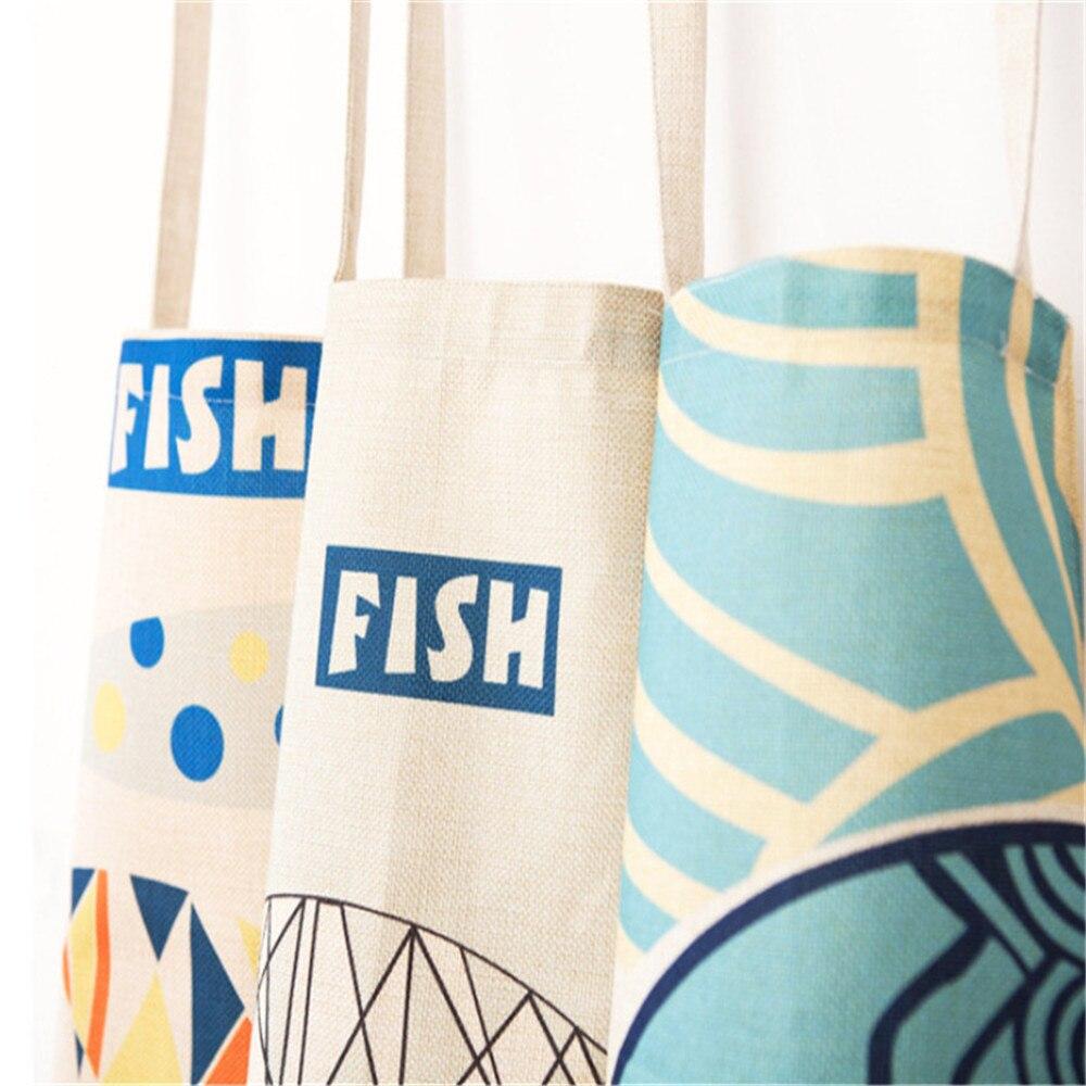 40x50cm Fish Patterns Children Apron Fashionable Japan Style Vintage ...