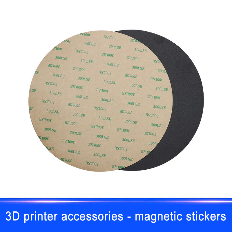 Learned New Magnetic Sticker Print Bed Tape 200mm Round Accessories Parts Diy For 3d Printer Em88 Be Shrewd In Money Matters 3d Printers & 3d Scanners