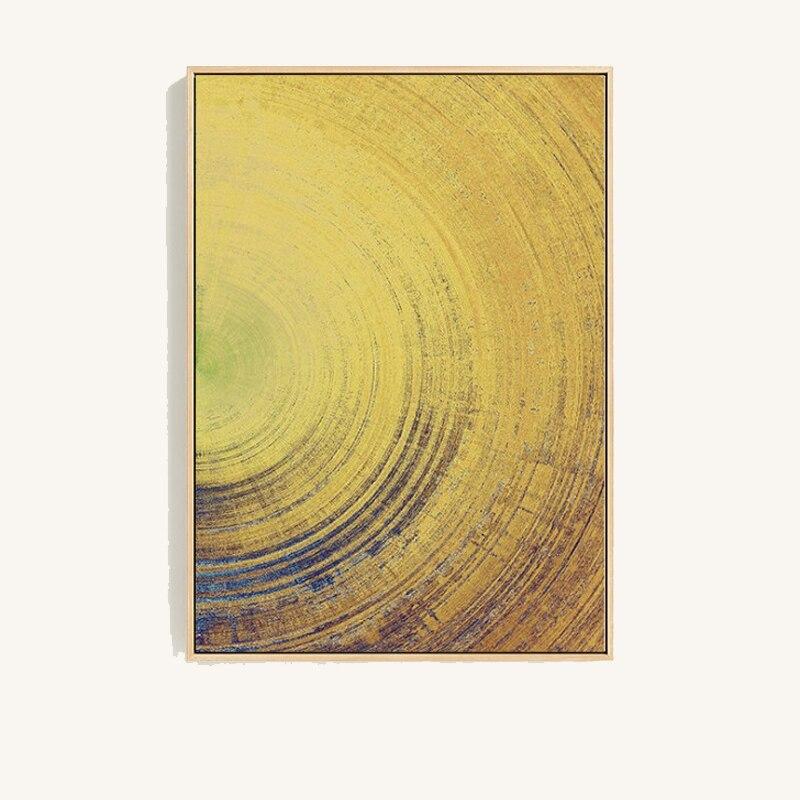 Earth Texture Nordic Style Vintage Geometric Wall Art Canvas Art ...