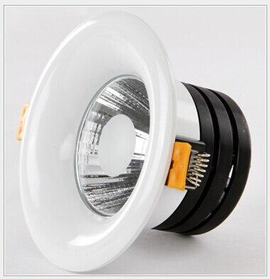 Частоты Доставка 10 Вт 15 Вт COB Потолочные Подпушка свет dowlight теплый белый/натуральный белый/холодный белый встраиваемый светильник AC85-265V