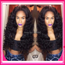 2016 New lacefront wigs virgin brazilian human hair glueless full lace & lace front wigs 180% denisity with baby hair for women