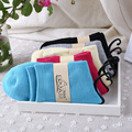 10Pairs/Lot New autumn explosion of thick warm socks pure lady Ms. terry towel socks