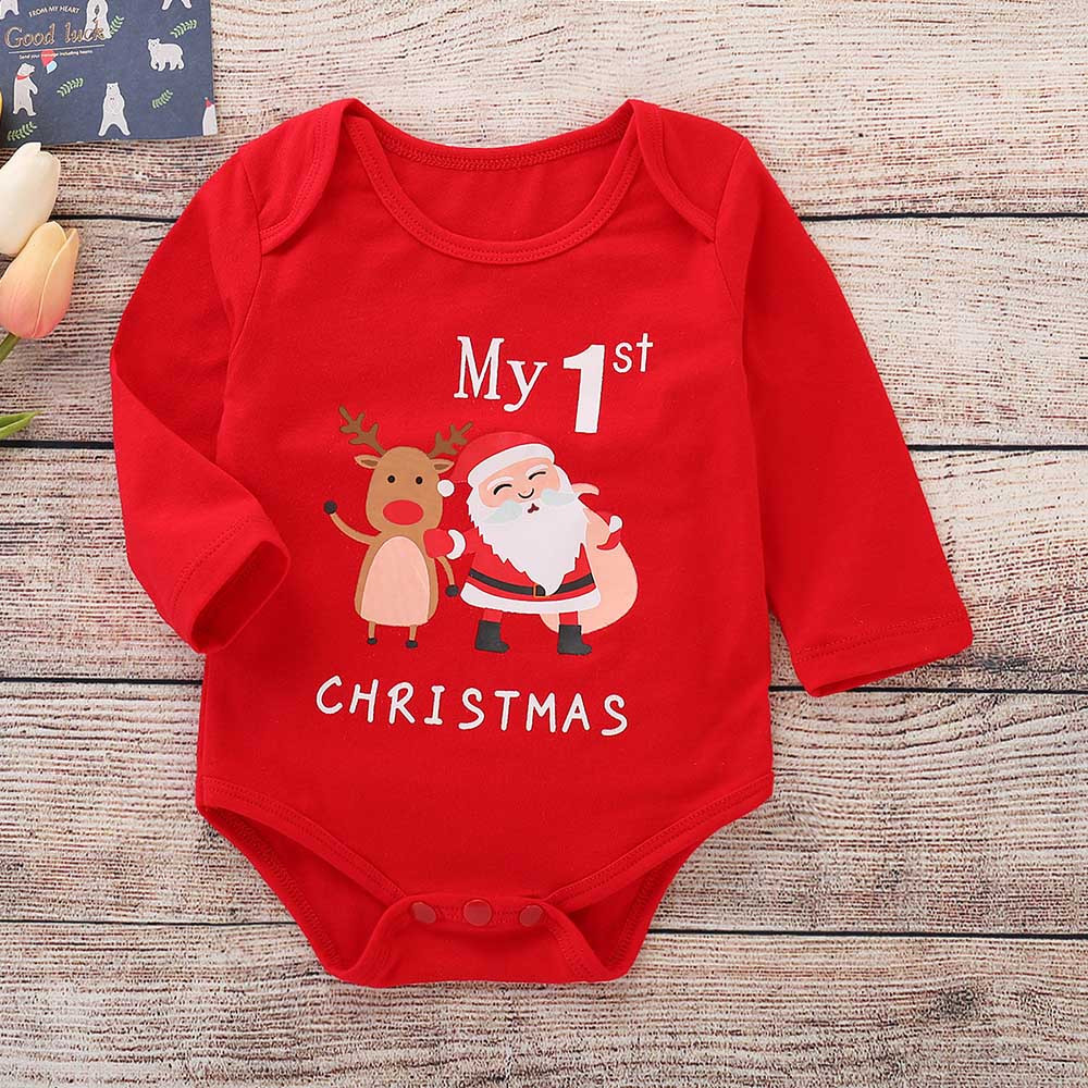 HTB1Wn GKeuSBuNjy1Xcq6AYjFXaY - ARLONEET Christmas Clothes Children Baby Girls boys Cartoon Deer 1PC Romper lovely kids Fashion romper Cloth In 2018 Xms