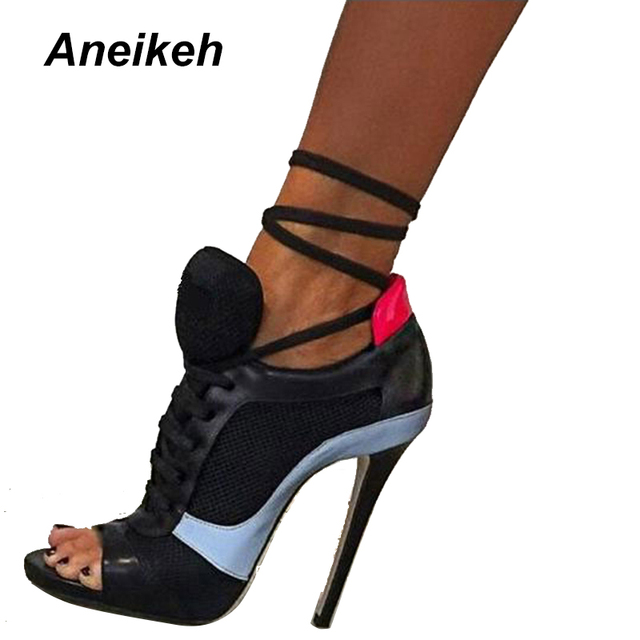 Summer Sandals Women Pumps Open-toed Women High Heels Shoes Fashion  Serpentine Pattern Belt 11cm Thin Heels Party Shoes 767-9  b468d34d06ae