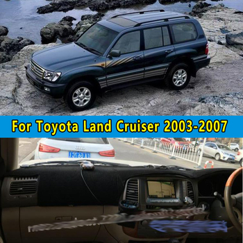 car dashmats car-styling accessories dashboard cover for toyota landcruiser j100 2003 2004 2005 2006 2007 image