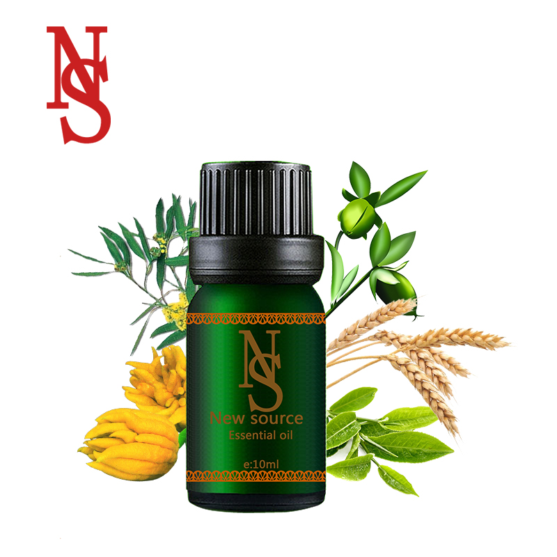 Pele Acne óleo essencial composto Melhorar o folículo piloso Melhorar o fenômeno de lã bursa de cicatrização da ferida inflamação FF23