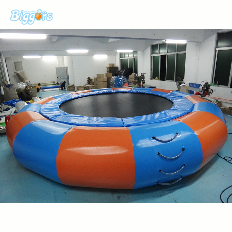 Durable Cheap inflatable water trampoline for sale inflatable water trampoline бумажник josephamani 822